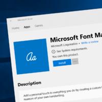 Microsoft выпустила приложение для создания собственных шрифтов