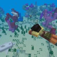 Вышла первая часть обновления Minecraft Update Aquatic