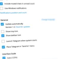 Клиент Telegram для Windows получил обновление