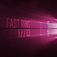 Вышла сборка 17713 в Fast Ring
