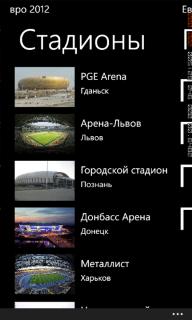 Скачать Euro 2012 1.1.0.0 для ZTE Tania