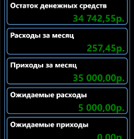 Мобильная бухгалтерия для Nokia Lumia 1520