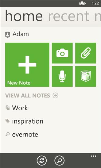Скачать Evernote для Nokia Lumia 710