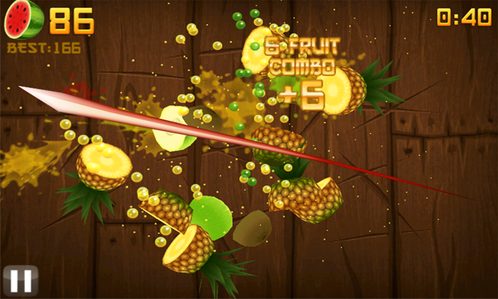 Fruit Ninja для Windows Phone