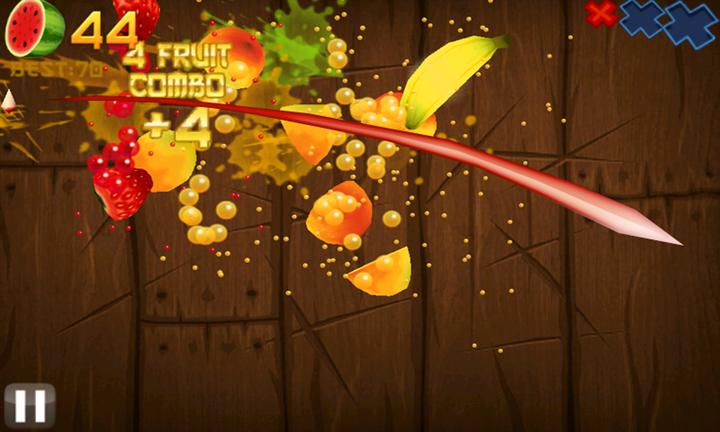 Скачать Fruit Ninja для Q-Mobile Dream W473