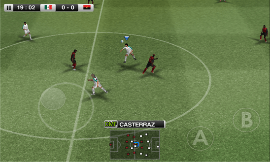 PES 2012 для Windows Phone