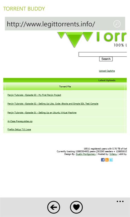 Скачать Torrent Buddy для Nokia Lumia 735