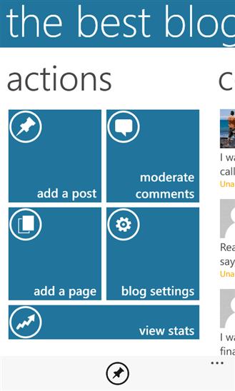 Скачать WordPress 1.6.0.0 для HTC Radar