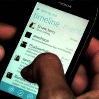 Nokia Lumia 710 и приложение Twitter показаны в новом видео Flo Rida