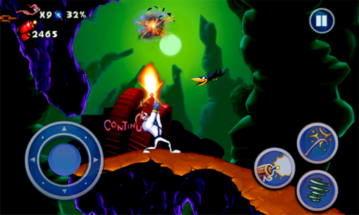 Earthworm Jim HD для Windows Phone
