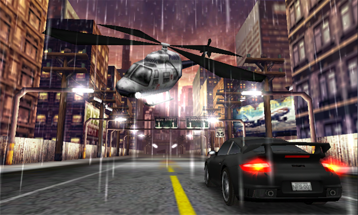 Need for Speed Undercover для Windows Phone