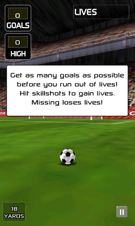 Скачать Football Kicks для Yezz Billy 4.0
