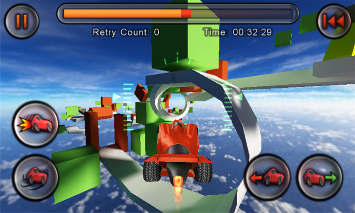Jet Car Stunts WP для Windows Phone