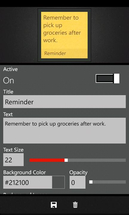 Скачать Quick Tiles для Nokia Lumia 820