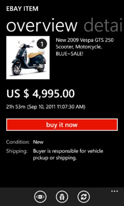 eBay для Windows Phone