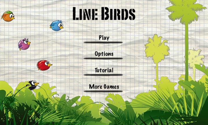 Скачать Line Birds для Yezz Monaco 4.7