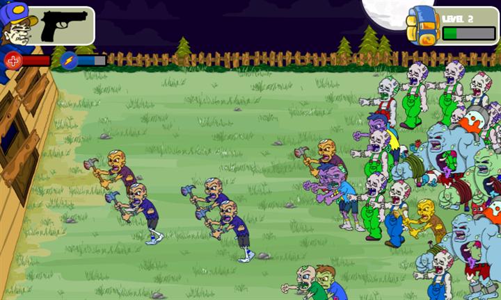 Скачать Millions Of Zombies для Samsung Focus S