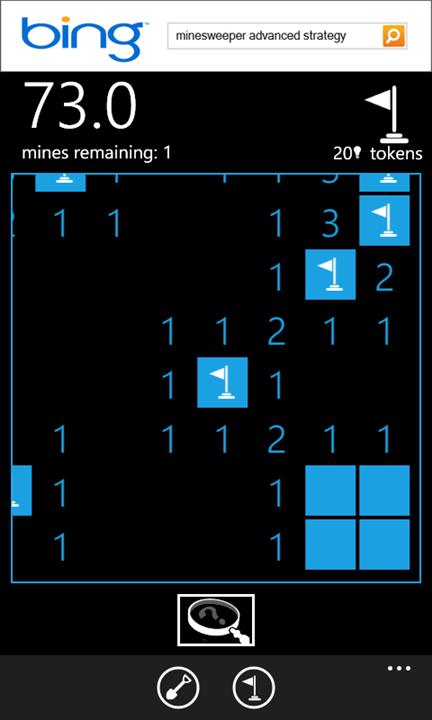 Minesweeper для Windows Phone