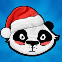 Pandas vs Ninjas Christmas для Samsung Omnia 7