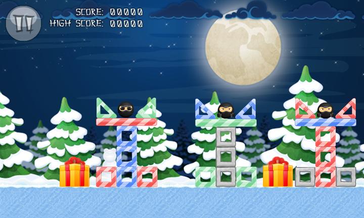 Скачать Pandas vs Ninjas Christmas для Samsung Focus S
