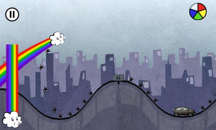 Скачать Rainbow Rapture для Samsung Focus S