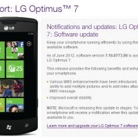 Telus предоставляет Tango для LG Optimus 7