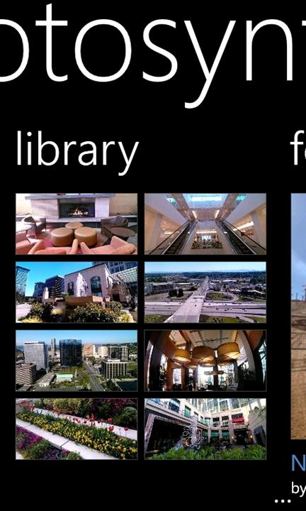 Скачать Photosynth для Microsoft Lumia 950 XL