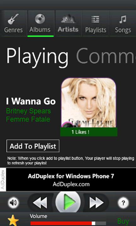 Скачать MusicAmp Free для Acer Liquid Jade Primo