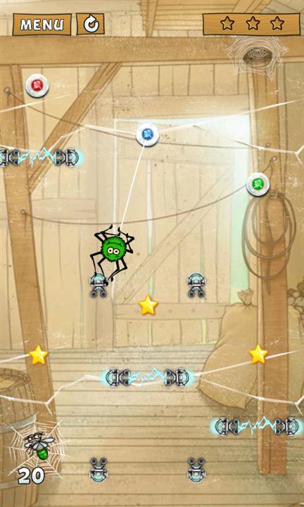 Spider Jack для Windows Phone