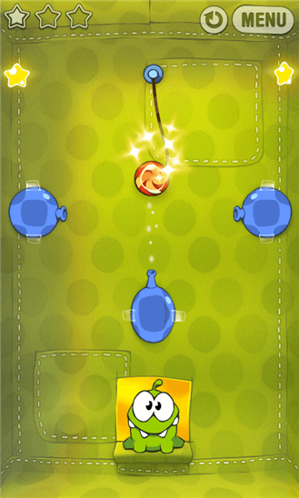Cut The Rope для Windows Phone
