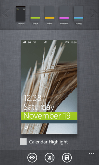 [+] LockScreen для Windows Phone