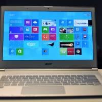 Ультрабук Acer S7 на Windows 8 с дисплеем 1080p