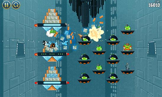 Скачать Angry Birds Star Wars для Q-Mobile Dream W473