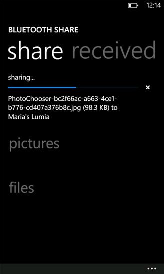 Скачать Передача по Bluetooth (Bluetooth Share) для Dell Venue Pro