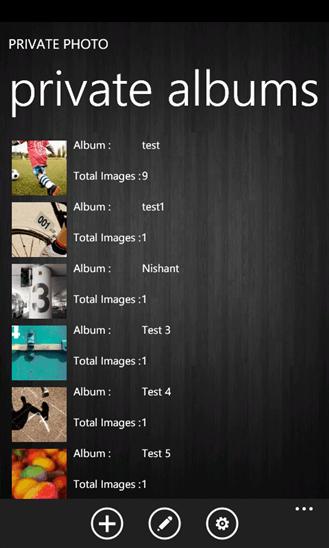 Скачать Private Photo для HTC Surround