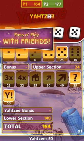 Yahtzee для Windows Phone