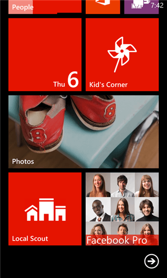 Скачать Facebook Pro для Nokia Lumia Icon