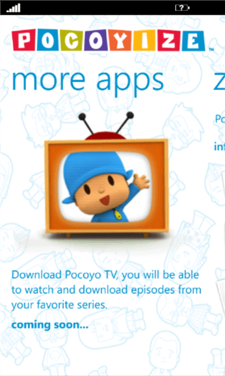 Pocoyize для Windows Phone