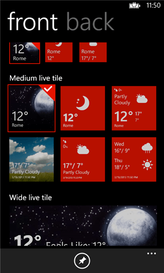 Скачать Amazing Weather HD для HTC 8S