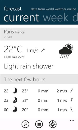 Скачать Forecast для Microsoft Lumia 430