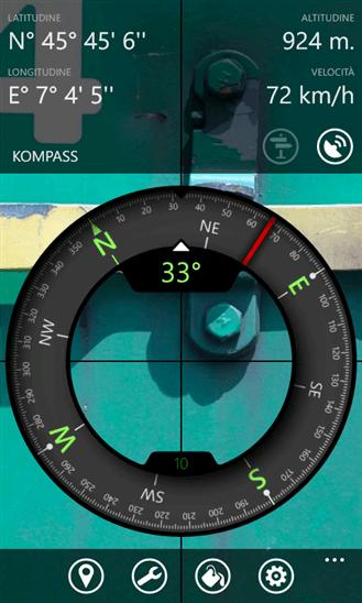 Kompass для Windows Phone