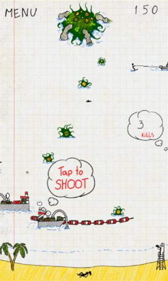 Скачать Doodle Invasion для Fujitsu IS12T
