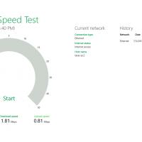 Microsoft представила приложение для измерения скорости Интернета.