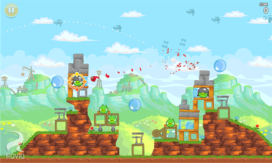 Скачать Angry Birds Classic для Q-Mobile Dream W473