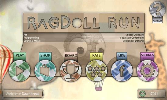Скачать Ragdoll Run Premium для Xolo Win Q900s