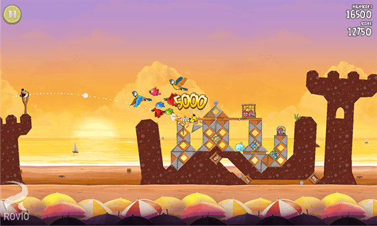 Angry Birds Rio для Windows Phone