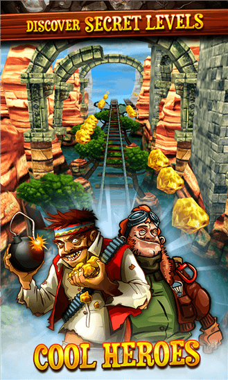 Rail Rush для Windows Phone