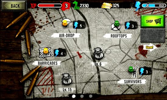 Zombie HQ для Windows Phone