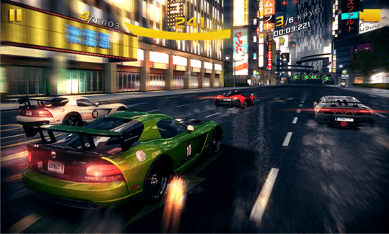 Asphalt 8: Airborne для Windows Phone