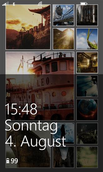Скачать 8.1 Lock Screen для Q-Mobile Storm W610